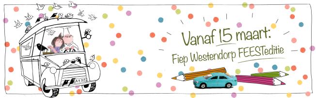 De Wereld Van Fiep Westendorp Op Een Xxl Kleurplaat In De Boekenkast